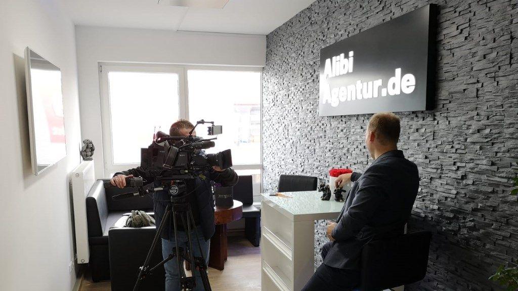 Büro der Alibi Agentur